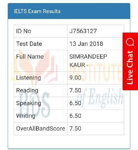 Top IELTS, PTE, OET & TOEFL Coaching Institute In Amritsar Punjab(Certificate 28)