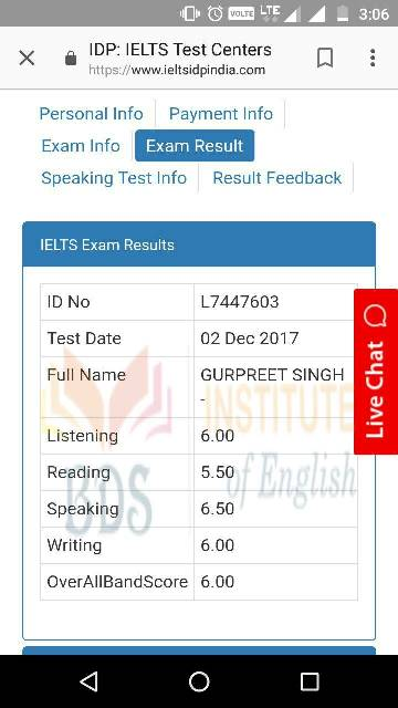 Top IELTS, PTE, OET & TOEFL Coaching Institute In Amritsar Punjab(Certificate 31)