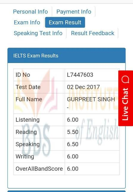 Top IELTS, PTE, OET & TOEFL Coaching Institute In Amritsar Punjab(Certificate 35)